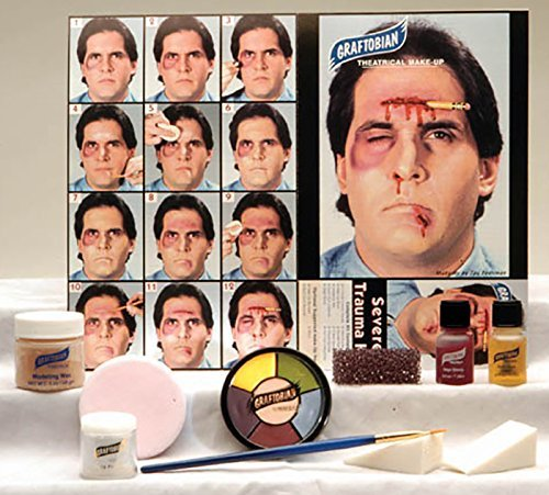 Special Kit (Graftobian Professional Severe Trauma Makeup Kit for Special Effects)