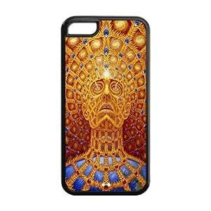 Alex Grey Design ( Cheap Iphone 5 ) TPU Case For iphone 5c hjbrhga1544