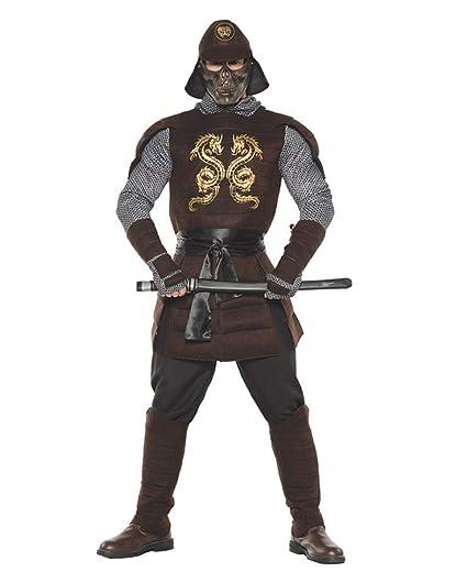 Horror-Shop Traje De Guerrero Samurai Standard: Amazon.es ...