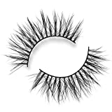 Lilly Lashes Lite Mink Goddess   False Eyelashes   Natural Look and Feel   Mink   Stackable & Reusable   Non-Magnetic   100% Handmade & Cruelty-Free