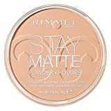 Rimmel Stay Matte Pressed Powder, Silky Beige, 0.49 Ounce (1 Count)