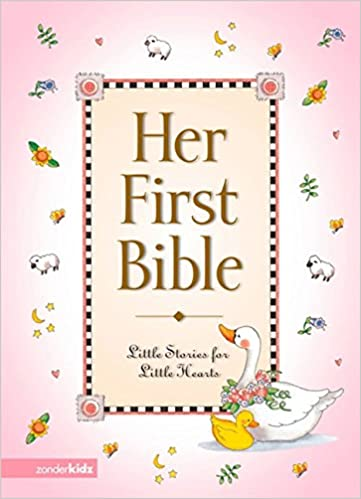 Her First Bible Melody Carlson Tish Tenud 9780310701293 Amazon