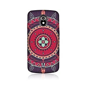 Violet Indian Monograms Back Case Cover For Samsung Galaxy Nexus I9250