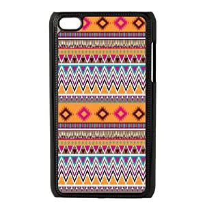 Custom iPod Touch 4 Cover, Personalized iPod Touch 4 Case - Ethnic Tribal Indian