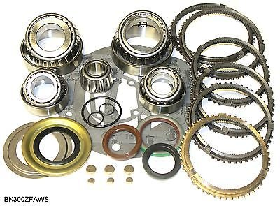 Ford ZF S547 5 Speed Transmission Rebuild Kit with Synchros 1996-on , BK300ZFAWS