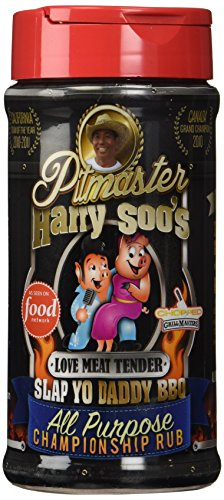 (Pitmaster Harry Soo's Slap Yo Daddy BBQ Rubs - All New (All Purpose Championship Rub - Love Meat Tender, 12oz))