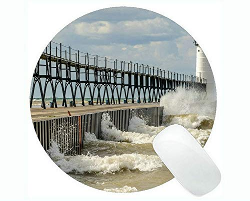 Yanteng Gaming Mouse mats,Lighthouse New Haven Sky Gaming Mouse Pads