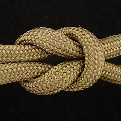 MilSpec Paracord Coyote Brown 498, 55 ft. Hank, Military Survival Braided Parachute 550 Cord. Use with Paracord Tools for Tent Camping, Hiking, Hunting Ropes, Bracelets & Projects. Plus 2 eBooks. by Paracord 550 Mil-Spec (TM) (Image #4)
