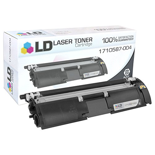 004 Laser Toner Cartridge (LD Remanufactured Konica-Minolta 1710587-004 Black Laser Toner Cartridge for MagiColor 2400, 2400w, 2430dl, 2450, 2480, 2480MF, 2490, 2490MF, 2500w, 2530DL, 2550DN, 2550EN, 2590)