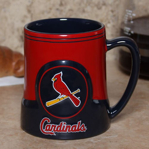 St. Louis Cardinals Coffee Mug - 18oz Game (Cardinals Coffee Mug)