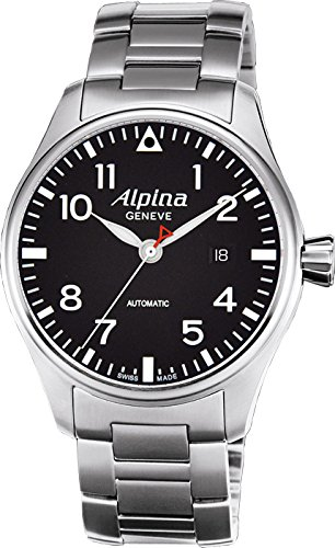 alpina startimer pilot herren 44mm automatikwerk saphirglas datum uhr al525b4s6b online kaufen. Black Bedroom Furniture Sets. Home Design Ideas