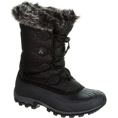 - Kamik Women's Momentum Snow Boot,Black,9 M US