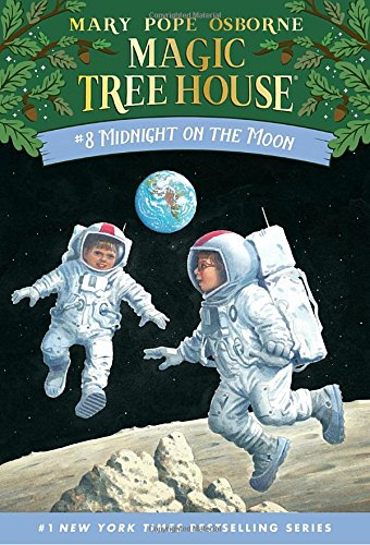 Midnight on the Moon (Magic Tree House, No. 8)