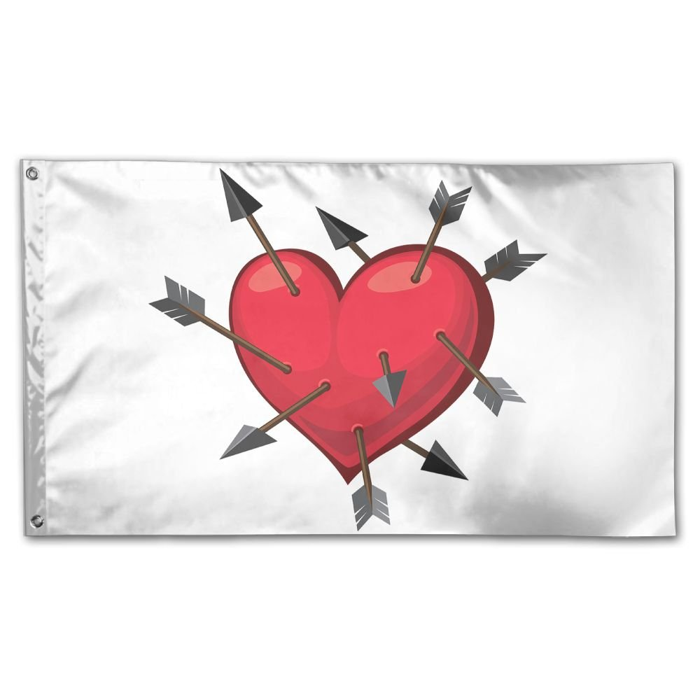 YUANSHAN Home Garden Flag In Extreme Grief Polyester Flag Indoor/Outdoor Wall Banners Decorative Flag Garden Flag 3' X 5' by YUANSHAN