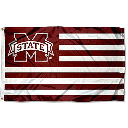 - Mississippi State University MSU Alumni Nation Stripes Flag