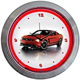 Cheap Neonetics Ford Mustang Boss 302 Neon Wall Clock, 15-Inch