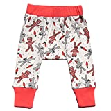 Cat & Dogma Certified Organic Baby Pants (Bunny, 6-12 Months)