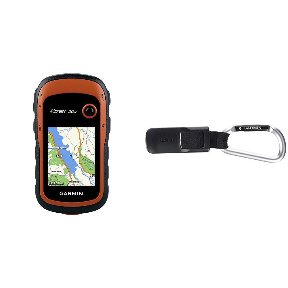 Garmin eTrex 20x GPS Portatile, Schermo 2.2', Mappa TopoActive Europa Orientale, Arancio/Nero Schermo 2.2 010-01508-02 eTrex; GPS; Outdoor; Escursione; Montagna; Sentieri; Mappa; Europa; Topo; Topografica; Portatile
