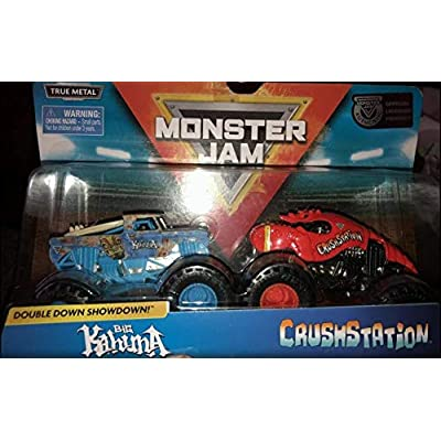 MJ Double Down Showdown Big Kahuna and Crushstation, 1:64 Scale: Toys & Games