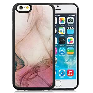 New Pupular And Unique Designed Case For iPhone 6 4.7 inch With Abstract Smoke Black Phone Case