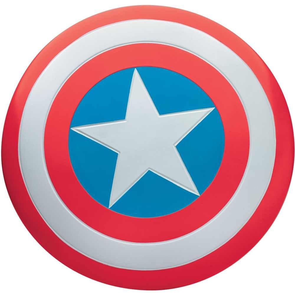 Bouclier Captain America - Taille Unique DISGUISE 18957-I