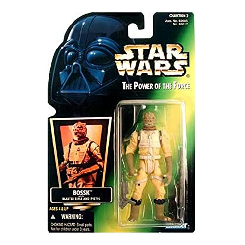 (Star Wars Power of the Force Green Card Bossk Action Figure)