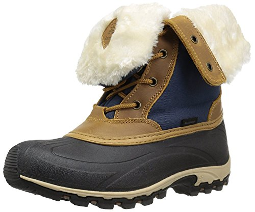 Kamik Women's Harper Snow Boot, Navy, 11 D US by Kamik