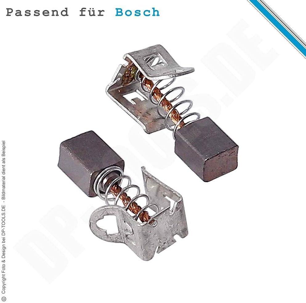 2x Kohlebürsten für Bosch 0 601 348 663 0 601 344 603 Motorkohlen Kohlestifte
