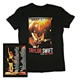 Taylor Swift Black Shorts Tour Tee T-Shirt Youth, Small, Medium, Large (Medium)