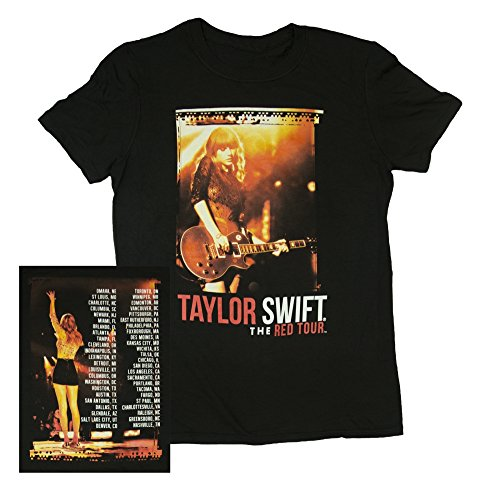 Taylor Swift Black Shorts Tour Tee T-Shirt Youth, Small, Medium, Large (Medium) by Taylor Swift