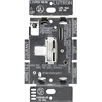 Lutron Toggler C.L Dimmer for dimmable LED, Halogen and ...