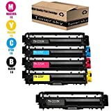 Compatible Toner Cartridge Replacement for Brother TN221 TN225 (2 Black, 1 Cyan, 1 Yellow, 1 Magenta, 5-Pack) For use with Brother Printer ByTonersky