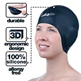 Swim Caps Ear Protection 3D - Swimming Cap for