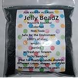 8oz -Almost 15,000 Jelly BeadZ Water Bead Gel - PURPLE- Heat Sealed Bag- Water Pearls Gel Beads- Wedding & Event Centerpieces