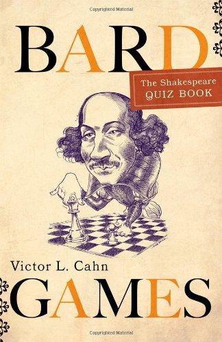 Read Online Bard Games: The Shakespeare Quiz Book pdf epub