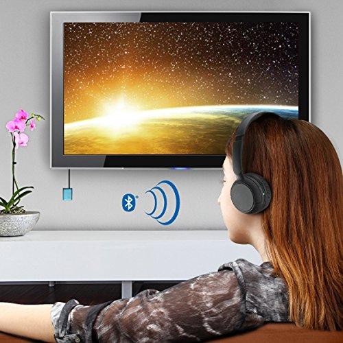 Amazoncom Gogroove Bluetooth Tv Headphones Wireless Connection