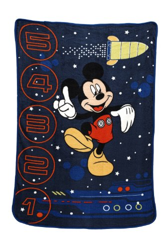 Disney Gravity Fleece Blanket Mickey