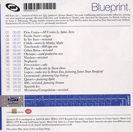 Blueprint the best of 808 state amazon music malvernweather Choice Image