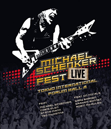 Blu-ray : Michael Schenker - Fest: Live Tokyo International Forum Hall A (Blu-ray)