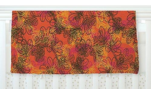 KESS InHouse Patternmuse Jaipur Orange Red Orange Fleece Baby Blanket 40 x 30 [並行輸入品]   B077ZV3KGC