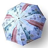 ワンタッチ折り畳みジャンプ傘