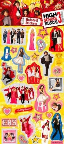High School Musical 3 - Foil Sticker Pack - Sticker Style (Foil Musical)