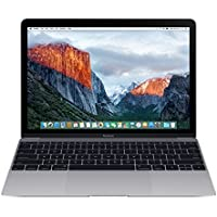 Apple MacBook MLH72E/A 12-Inch Laptop with Retina Display (Space Gray, 256 GB) (Spanish Keyboard)
