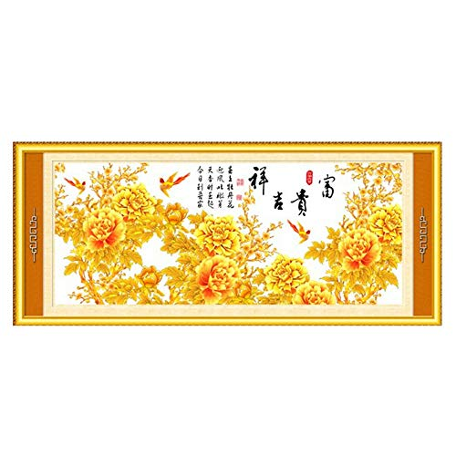 Cross Stitch, Poem, Flower, Chinese Style, C0169