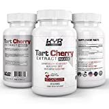 KYR Tart Cherry Extract Capsules with Celery Seed-Flush excess Uric Acid providing Joint Comfort, Healthy Sleep and Muscle Recovery -Our most effective polyphenols supplement ever-60 Veg cap (1Bottle)