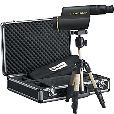 Leupold 120559 GR HD Spotting Scope Kit, Shadow Gray, 12-40 x 60mm