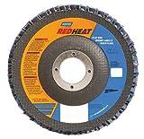 40 Grit 4-1/2'' Diam 7/8'' Center Hole Type 29 Ceramic Flap Disc
