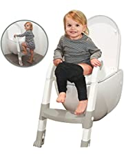 Roger Armstrong The Ultimate Toilet Trainer Seats, Grey/White