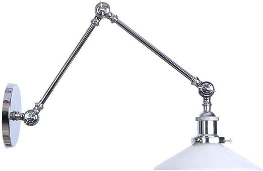 BDYJY Lámpara de Pared con Brazo oscilante, 1 lámpara de Pared ...