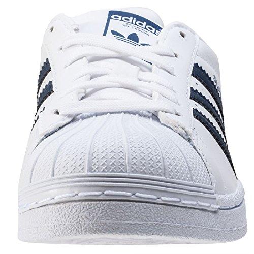 W Visitar Superstar Blanco Ebay Liquidación Adidas Basket Mujer Azul 6gbfy7vY
